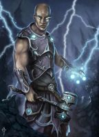 Lightning Warrior by JustMick