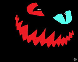 Grin.... Done in class coz i was bored... by Fourdd
