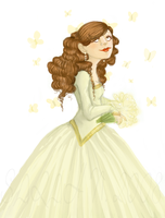 Hermione Wedding wiiiiip by savvy-weasley