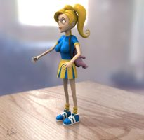 3d Brittany - toy by S-C