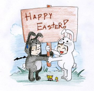 HAPPY EASTER by Sessu1