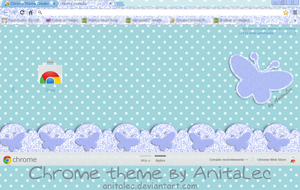 Butterflies Google Chrome theme by AnitaLec
