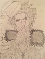 Merry Christmas from Mikoto Suoh by FireDragonSlayer1