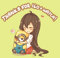 THANK YOU FOR 160+ WATCH! by Samichii