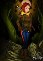 In the woods by editwilson