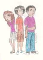 Percy, Frank, and Hazel by MissySerendipity