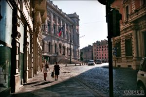 Street in Rome by RoqqR