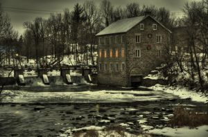 The Manotick Mill by squarepush