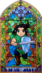 Avery Stained Glass by KJSylvan