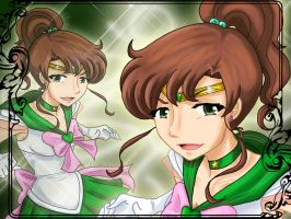 Sailor Jupiter Wallpaper by samiikinns
