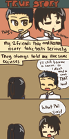 True Story: Tests by pferty