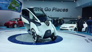 The Toyota i-Road by Thrumm