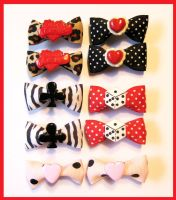 Hair Clips Mix by cherryboop