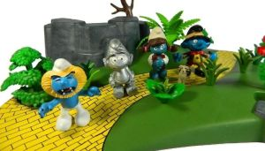 Custom Smurfs - inspired by The Wizard of Oz by Minimixx