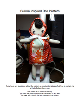 bunka inspired doll tutorial by gurliebot