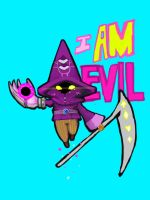 I AM EVIL by KindCoffee