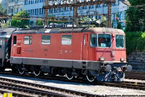 SBB Re 4-4 II 11120 by SwissTrain