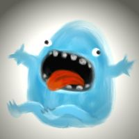 blue monster by chunghwa
