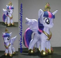 Alicorn Princess Twilight by agatrix