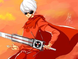 the knight of time__dave strider by fay419