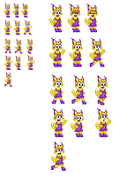 Lexi Lynx Sprites by lalalei2001