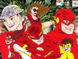 Flash Family  colab by CDL113