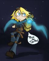 Ezreal by inkinesss