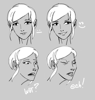 Expressions doodle by wildcats25