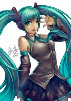 Miku by Wuduo