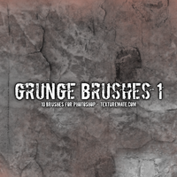 Free Grunge Brushes by AscendedArts