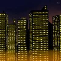 City Lights by Flame22