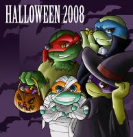 TMNT: Halloween 2008 by NamiAngel