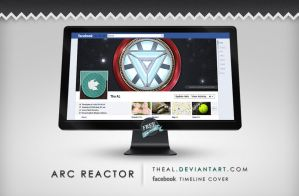 Arc Reactor Timeline Cover by TheAL