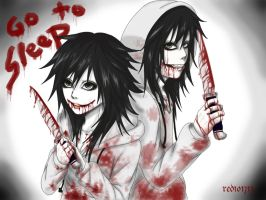 Jeff the killer by redichiyami