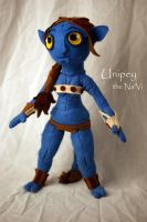 Avatar Na'vi Plush by Loucathwil
