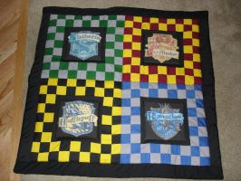 The Harry Potter Quilt by fakexAxsmile