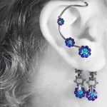 Heliotrope industrial ear wrap v8 by YouniquelyChic