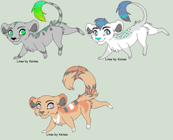 Lion Adoptables 20 POINTS EACH by SquidPup