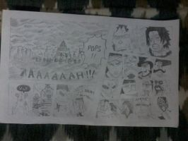 A One Piece Manga Page I Copied (No Tracing) by vedabitsaha