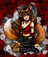 Foxy Loxy by Harpyqueen