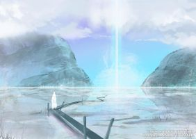 Spitpaint: White Marsh/ Soul ascending by UnknownStain