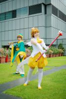 [STCC '08] Sakura and Syaoran I by rosukuma