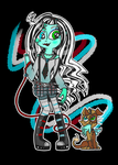 Personal Monster High Reboot - Frankie Stein! by Crystal-Sushi