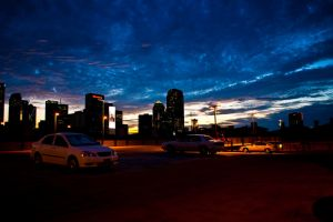 Downtown Dallas Sunset by AquaVixie
