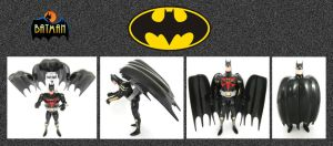 Batman Figure by mikedaws