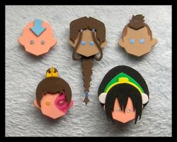 Pins-Avatar The Last Airbender by GwydionAE