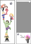 Le Avengers bookmark by MicoSol