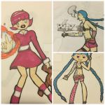 Sketchpad collection - 02 League of Legends by Caomha
