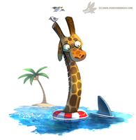 Daily Paint #996. Nope.jpg (OA) by Cryptid-Creations