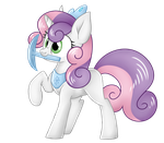 Sweetie Belle - Diamond Princess by ShyShyOctavia
